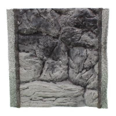 Фон плоский скала серая для аквариума ATG LINE  (PLSZ25x30)  AquaDeco Shop