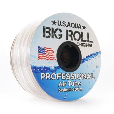 Шланг U.S.AQUA Airline Clear прозрачный 4_6мм силиконовый  (usaqua-clear) usaqua airline clear AquaDeco Shop