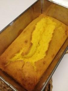 ハロウィンスイーツ かぼちゃのパウンドケーキの簡単レシピ