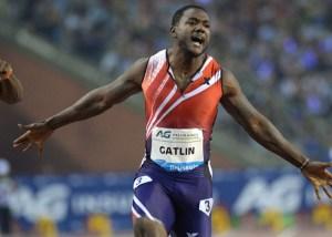 ジャスティンガトリン 100m走