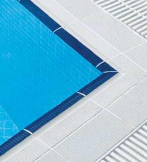 antislip edge pool tiles