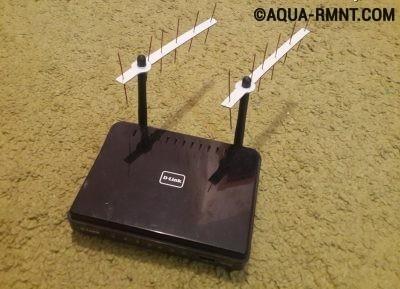 Двухантенный роутер с усилителем сигнала