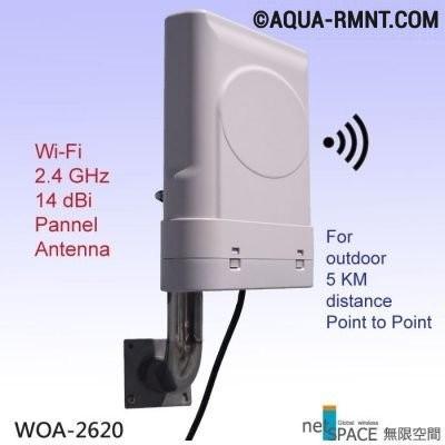 Плоская Wi-Fi-антенна