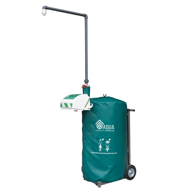 Portable Self-Contained Safety Shower