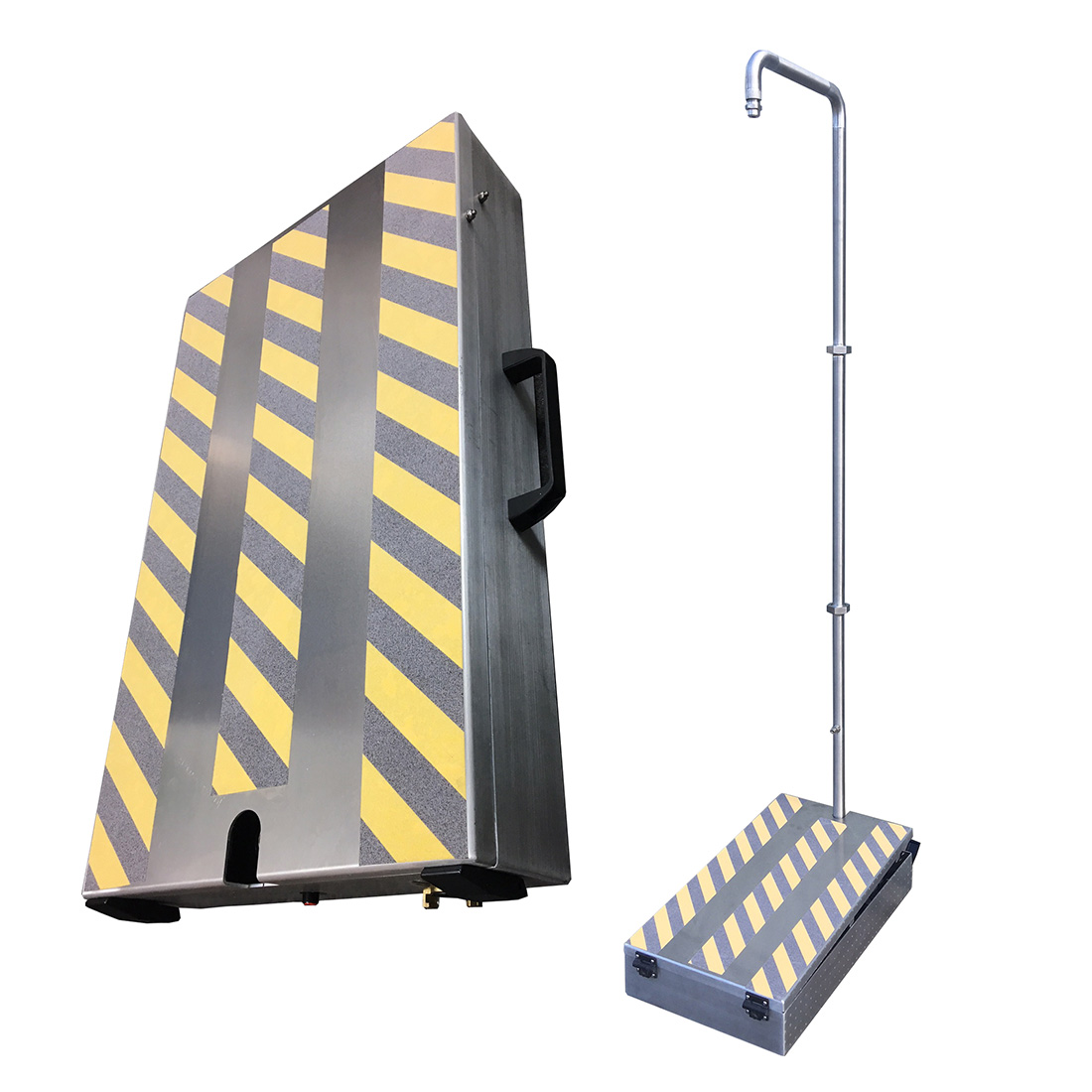 Portable Mains-Fed Safety Shower