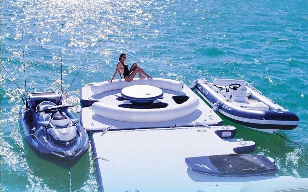 Inflatable Yacht Dock