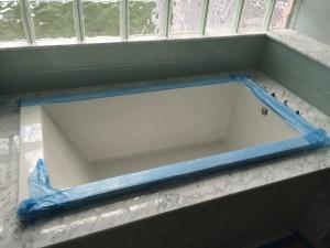 Soaker Tub Install