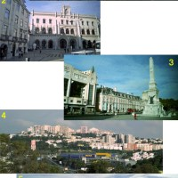 Traveling to Spain and Portugal 22:  Lisbon 2, walking around town, on the 8th trip, October 19