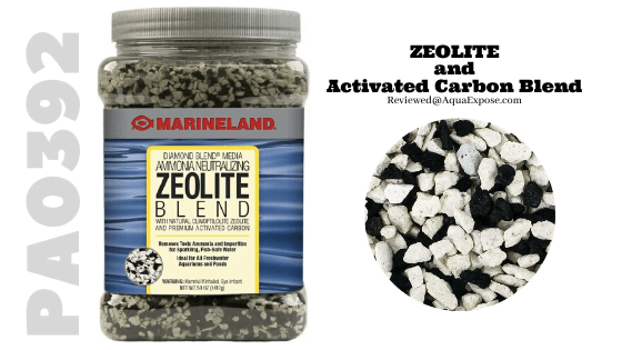 MarineLand PA0392-Zeolite & Diamond Activated Carbon Blend- Chemical Media for Aquarium