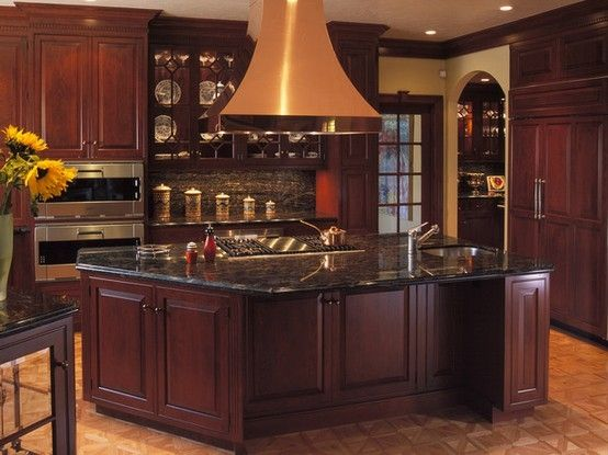 Black Granite Countertops Styles, Tips, VIDEO + INFOGRAPHIC on Dark Granite Countertops With Dark Cabinets  id=54822