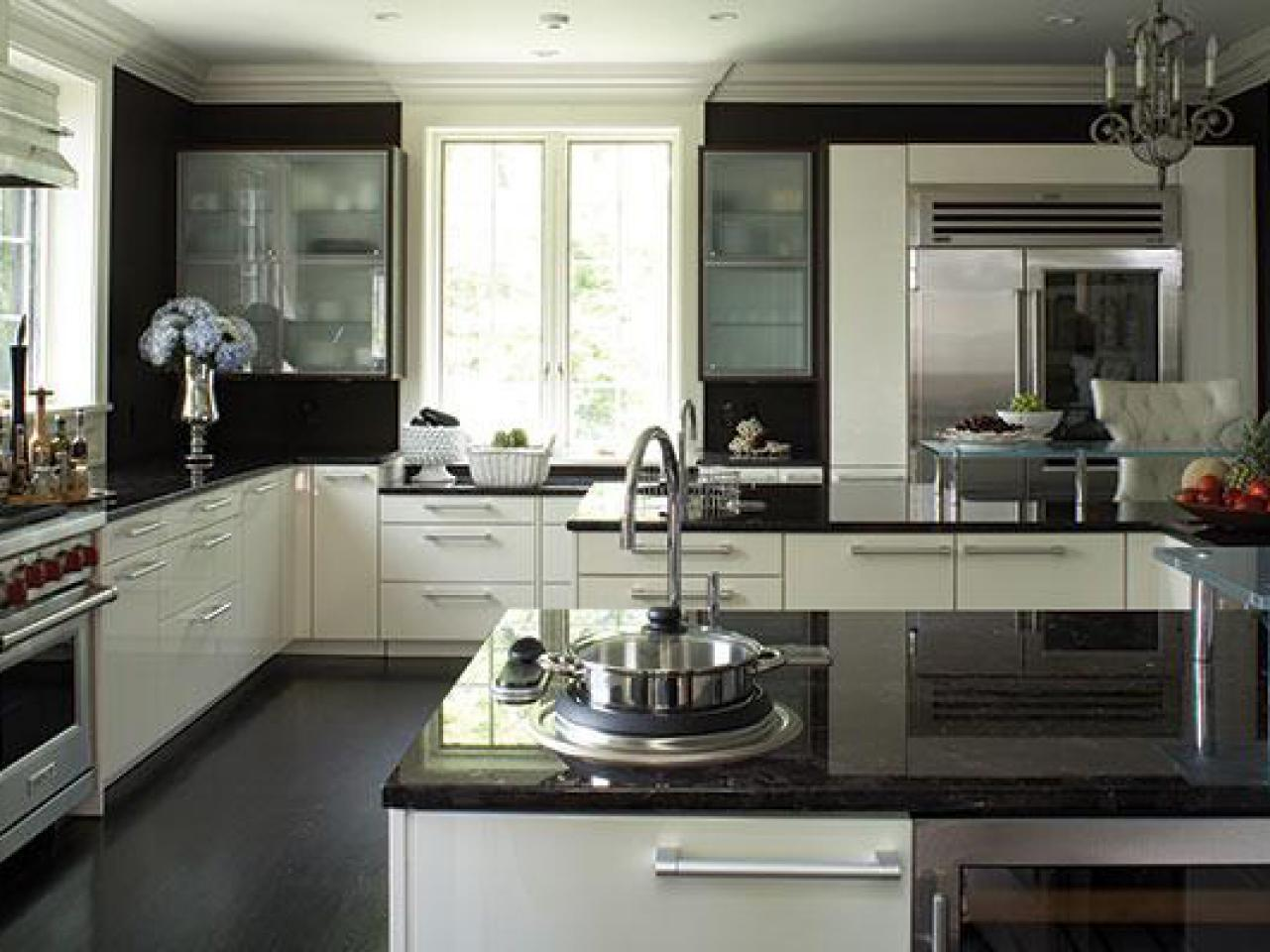 Black Granite Countertops - a Daring Touch of ... on Black Countertops  id=83229
