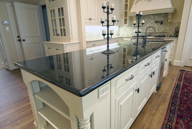 Black Granite Countertops - a Daring Touch of ... on Black Countertops  id=35546