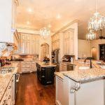 Giallo Ornamental Granite For Warm Elegant Kitchen Design