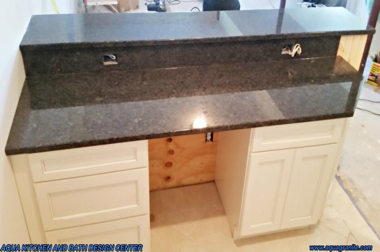 Steel Gray Granite Low Maintenance Stain Free Scratch Free