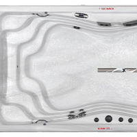 H2X Trainer 19 Deep Jetted Swim and Fitness Spa