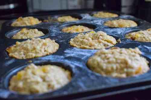 muffins in a muffn tin