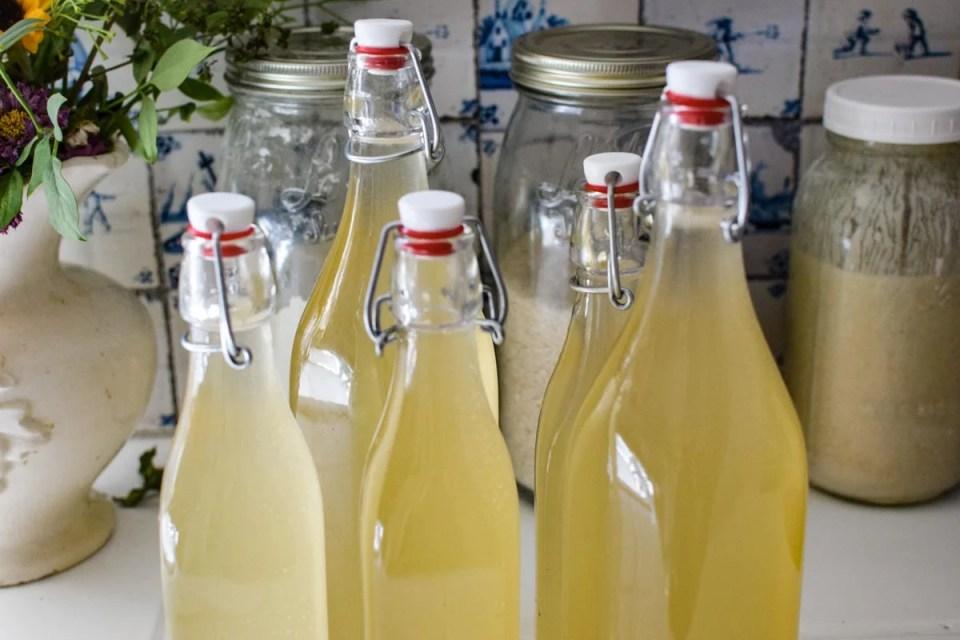 bottled up ginger beer