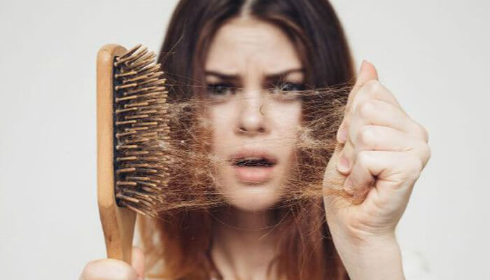 Hair loss makes you lose confidence and increases your risk of baldness
