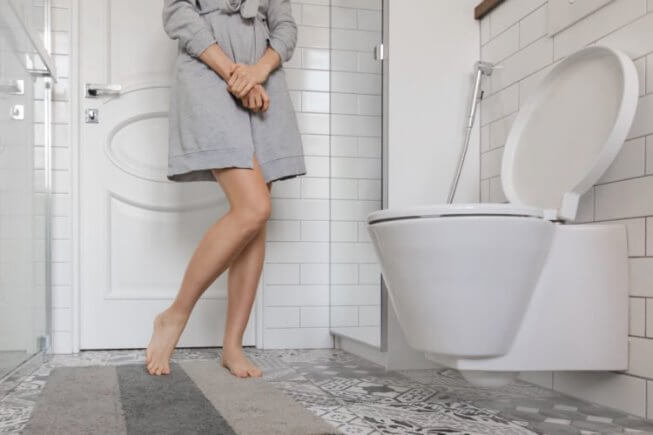Urinating too much is a sign of excess water