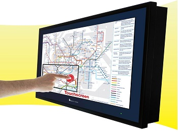 Touch TV Digital Signage Display
