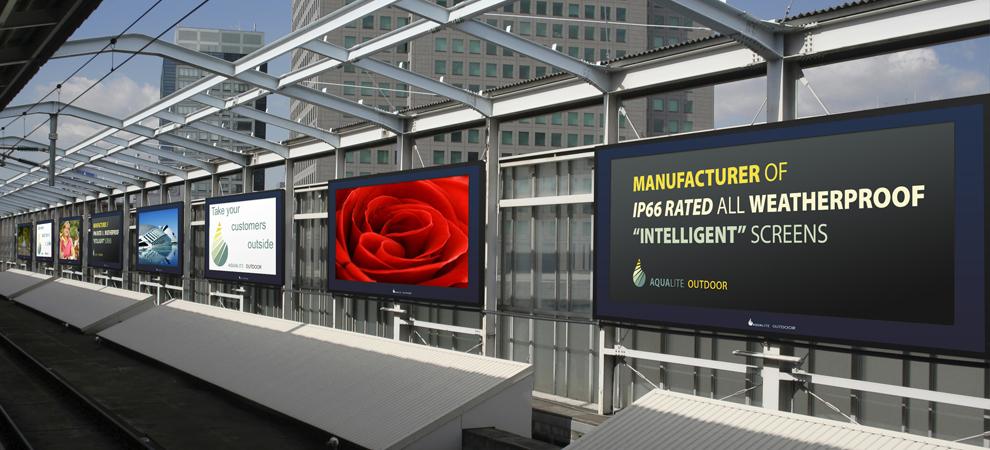 Public Transport Digital Display Screens