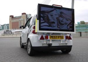 Outdoor Mobile TV Advertising Display Screens