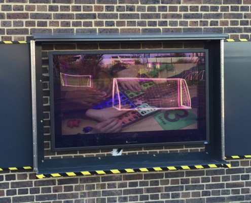 Outdoor TV Security Covers