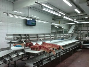 Food & Meat Factory Display Screens