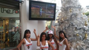 Hooters Phuket - Aqualite Outdoor TV