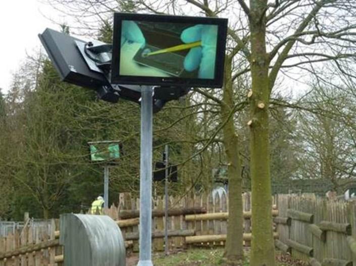 EU Outdoor TV Display Screen