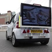 Mobile Digital Advertising Screens