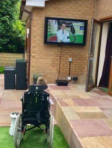 Outdoor TV -