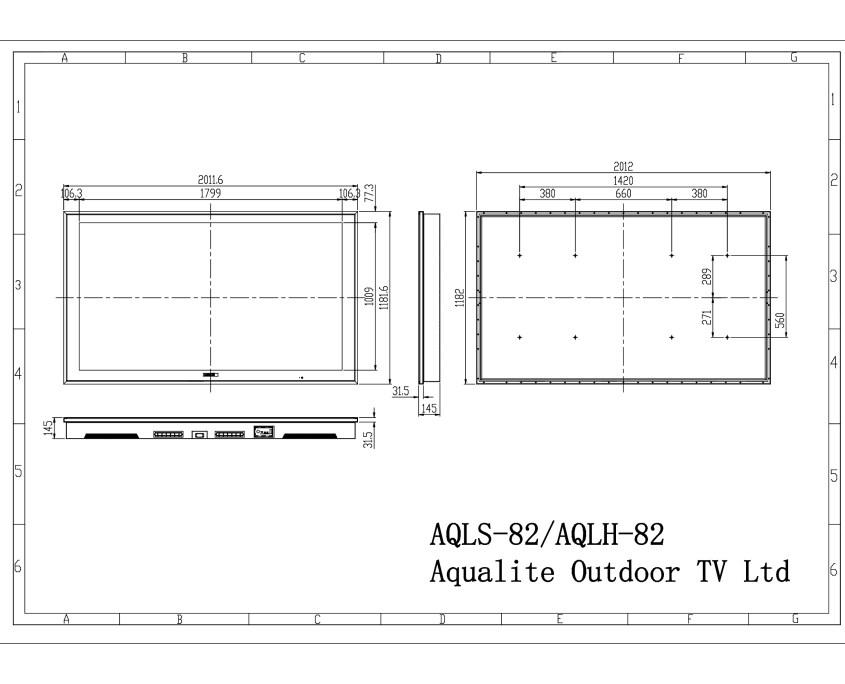 AQLS-AQLH-82 Outdoor TV