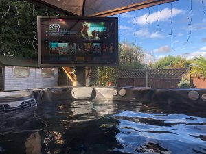 TVs For Hot Tubs