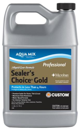 Sealer's Choice® Gold – Rapid Cure - Aqua Mix® Australia