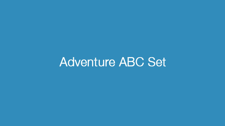 Adventure ABC Set