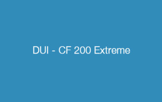 DUI – CF 200 Extreme