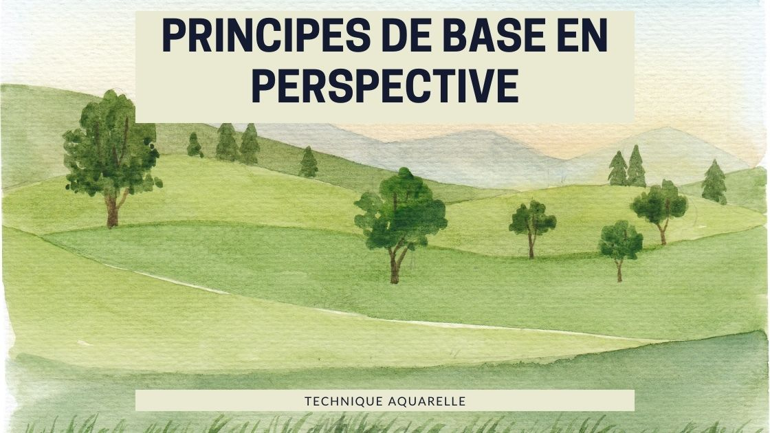 cover article perspective aquarelle