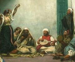 Delacroix Eugène, Noce Juive,1839 ?, Huile sur toile, H. : 1,05 m. ; L. : 1,40 m., Musée du Louvre © Musée du Louvre/A. Dequier - M. Bard