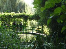 monet, garten, garden, giverny, brücke, see, teich, pond