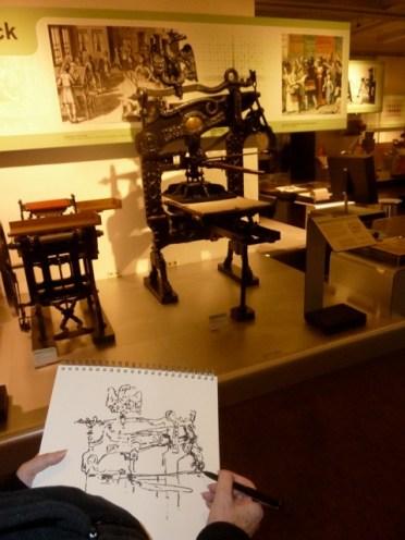 museum, musée, technik, technical, technique, zusammen zeichnen,