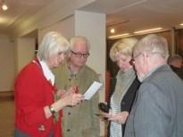 Susanne, Rudi, ich, Hans