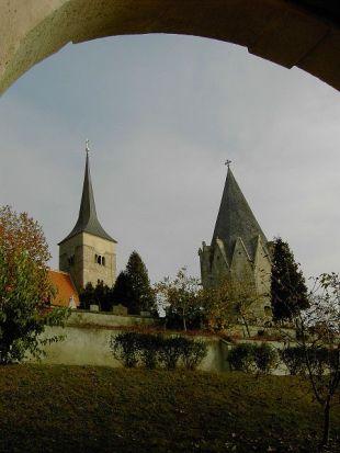 kirche, church, église, tor, gate, porte, tür, door, porte, kirchhof, churchyard, graveyard, cimetère, pulkau, retzerland