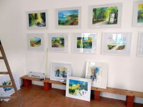 aquarell, watercolor, aquarelle, ausstellung, exhibition, exposition, hardegg, kulturpunkt