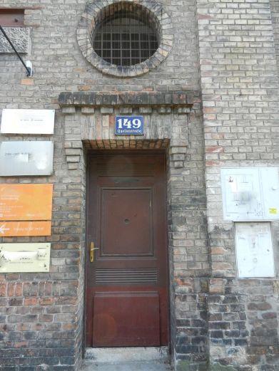 tor, gate, porte, tür, door, porte, fabrik, factory, fabrique, usine, backstein, brick, brique, favoriten, quellenstrasse