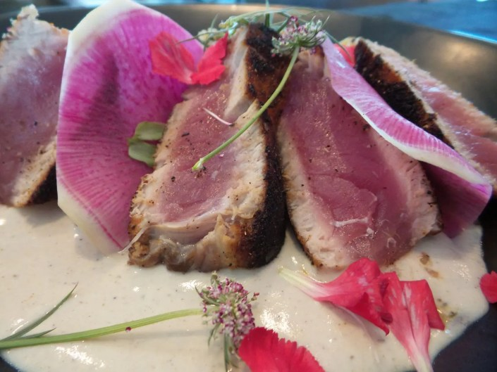 Seared Bigeye Tuna at AQUA Restaurant