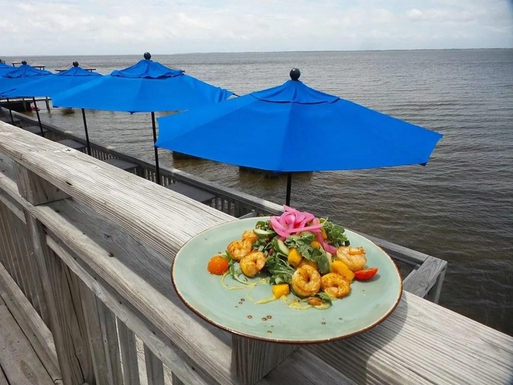 Margarita Salad at AQUA Restaurant