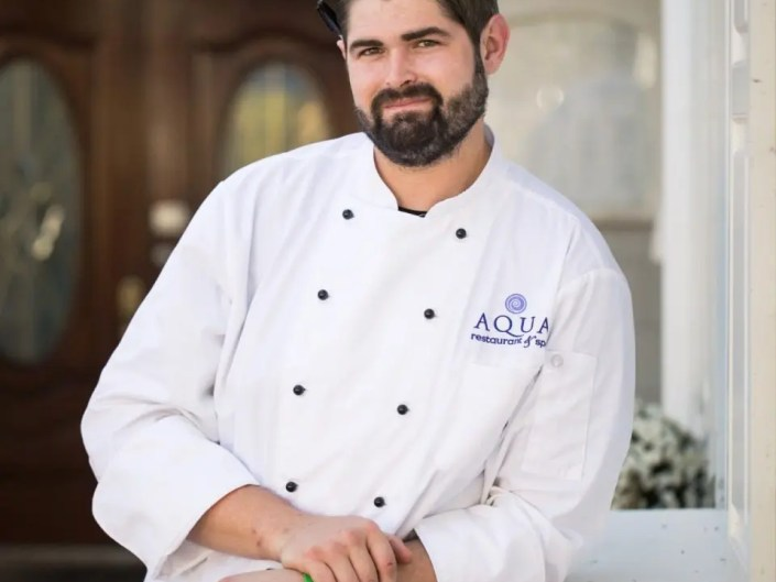 AQUA Restaurant Executive Chef Cory Bryant