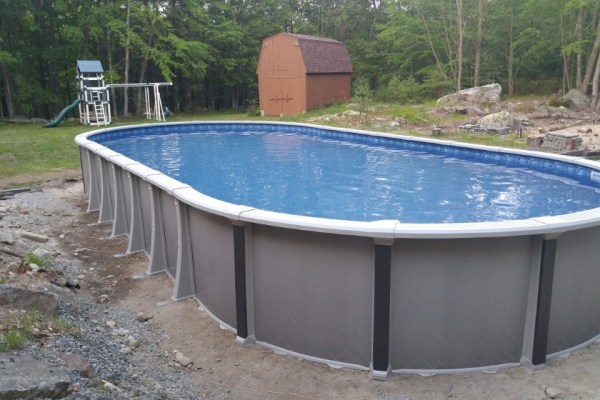 Swimming Pool Contractors, 18x40 Quantum Above Ground Pool