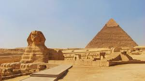 Sphinx & Great Pyramid 1